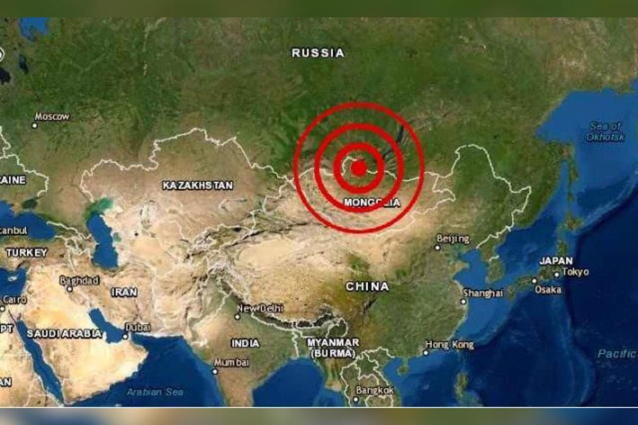 Terremoto de 6,8 sacude cerca de frontera entre Rusia y Mongolia