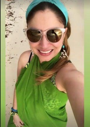 presentadora de HCH Génesis Verde