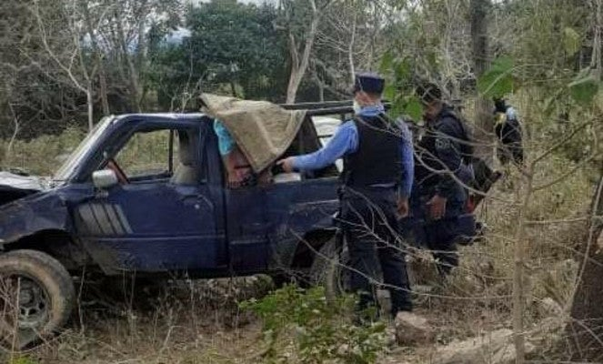 accidente tres muertos en Intibucá
