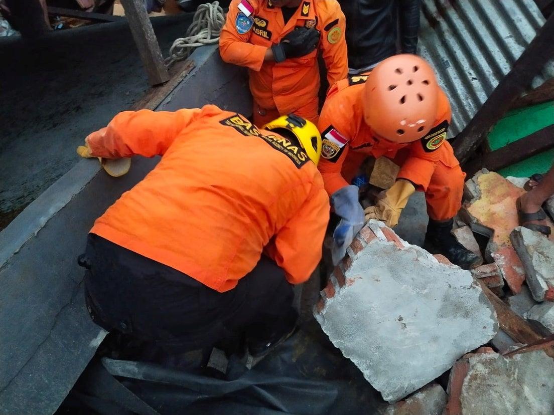 terremoto Indonesia muertes