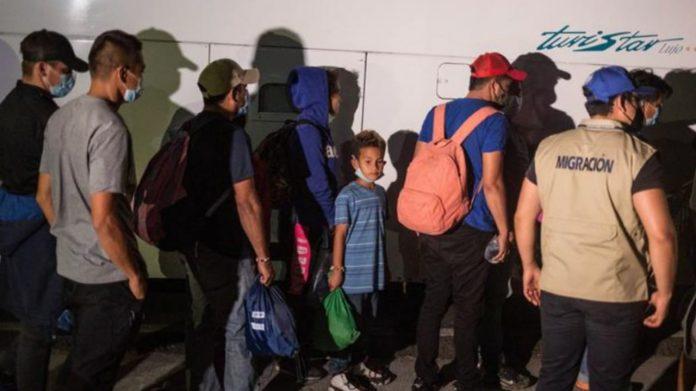 caravana migrantes retornados a Honduras