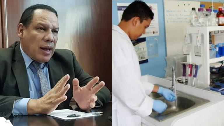Dr Medina: UNAH tiene equipo para detectar nueva cepa de COVID-19