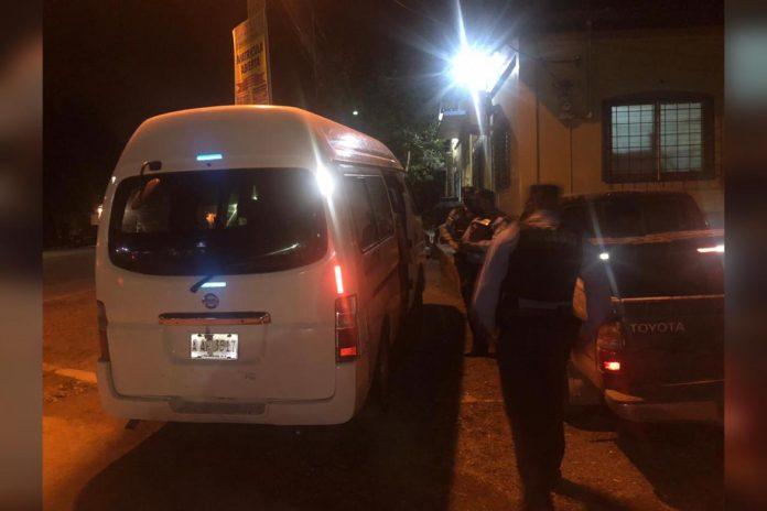 Heridos en bus de Villanueva