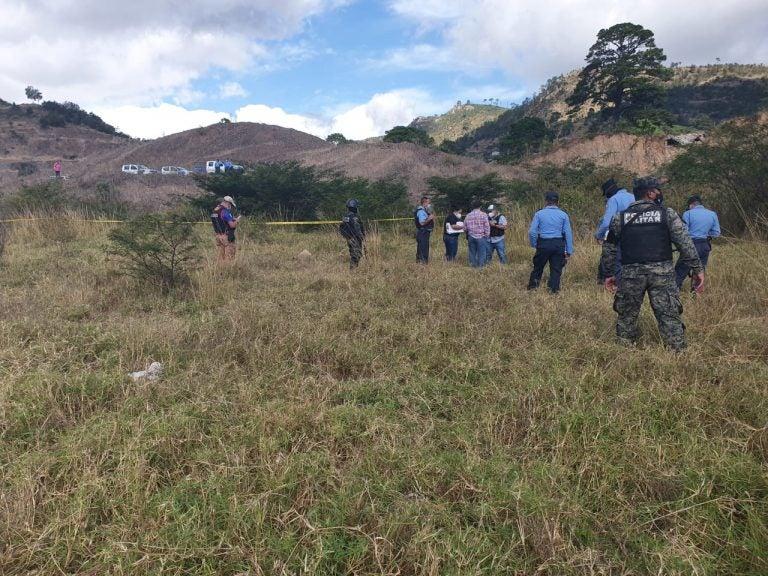 Comayagüela: hallan supuesto cementerio clandestino e identifican osamenta