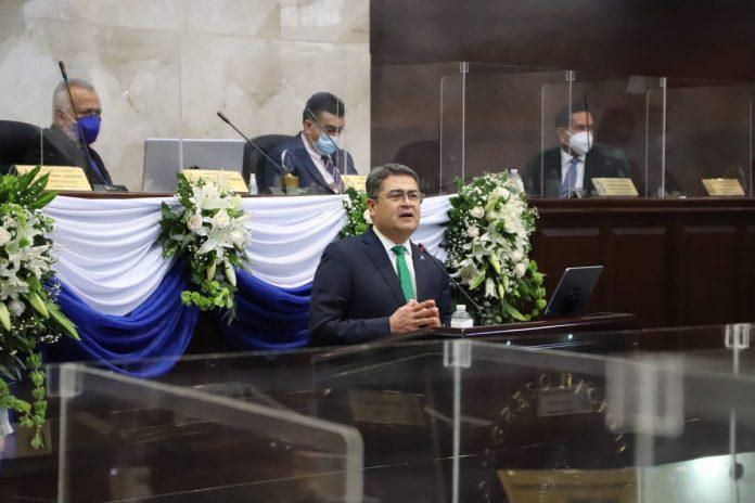 CN niega juicio político contra JOH