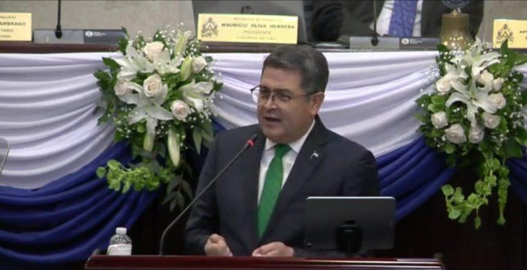 Honduras: JOH asegura, una vez más, que no buscará la reelección