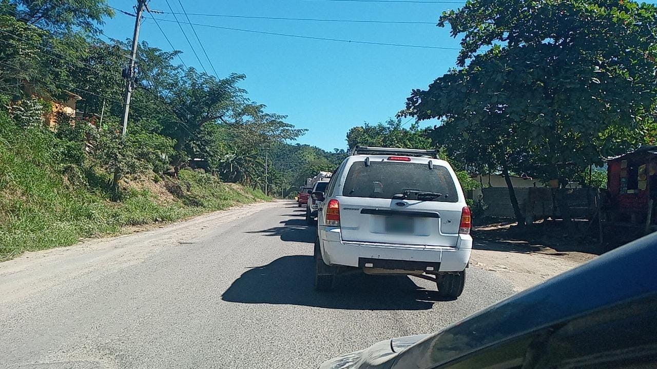 tráfico entre Cofradía y SPS