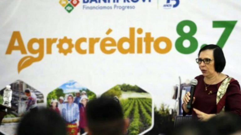 BANHPROVI: Gobierno asumirá 3.7 % de tasa de interés de agrocrédito