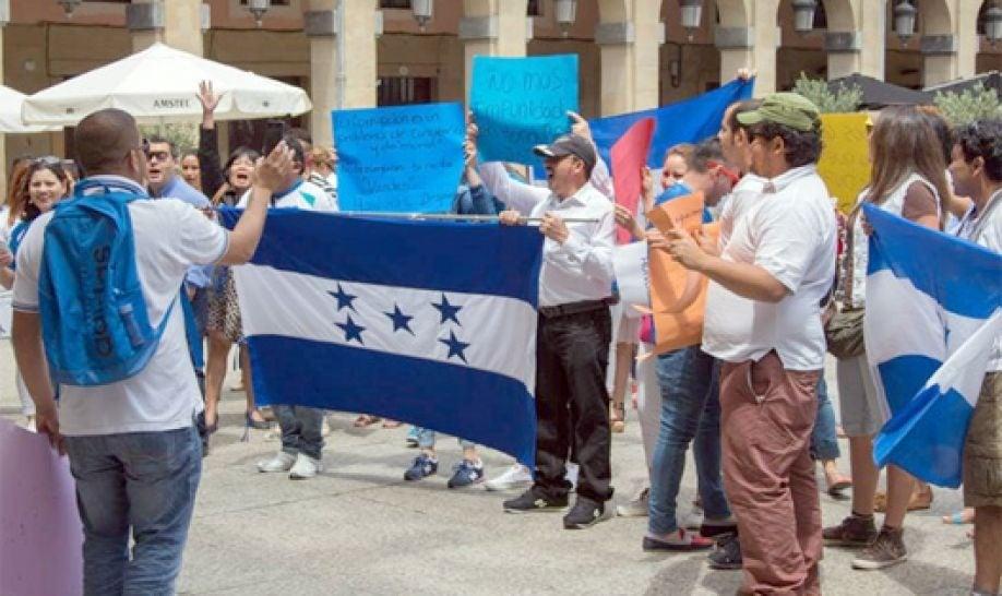 migración de hondureños a España