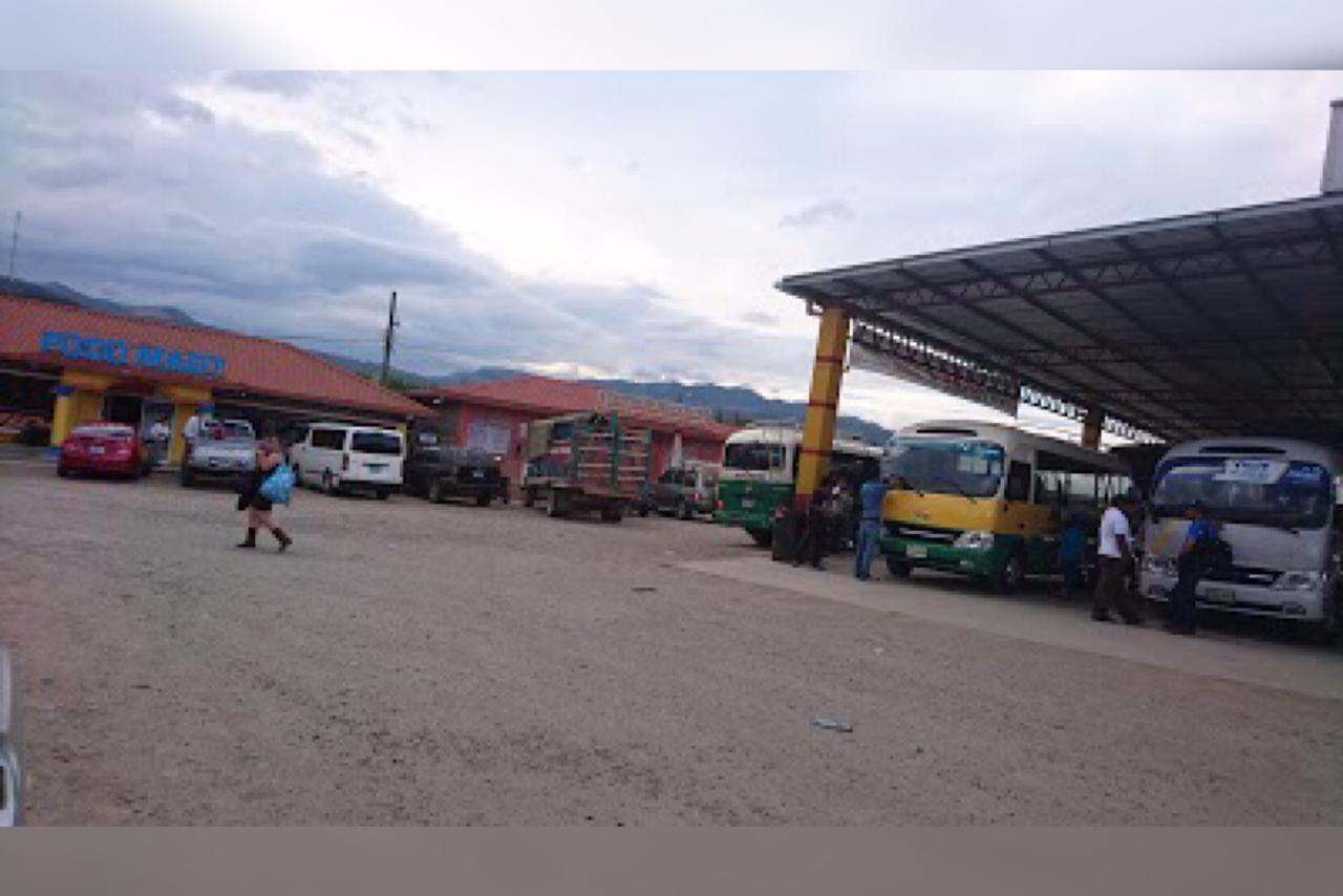 Intibucá: encuentran un feto en terminal de buses de La Esperanza