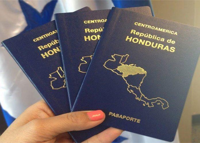 pasaporte hondureño países para viajar