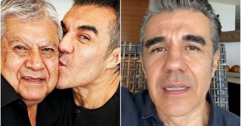 """El actor Adrián Uribe revela que su padre murió de COVID-19: """"En una semana se nos fue"""""""
