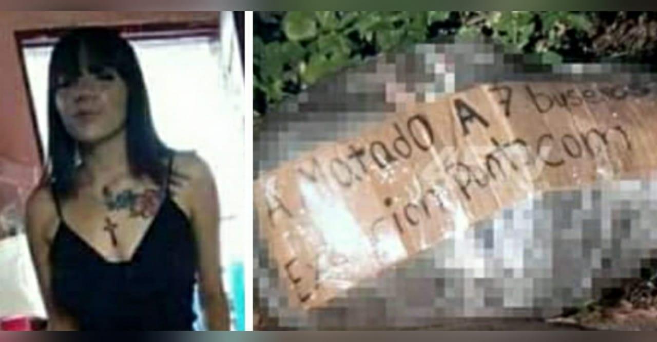 cuerpo empaquetado Tegucigalpa jovencita