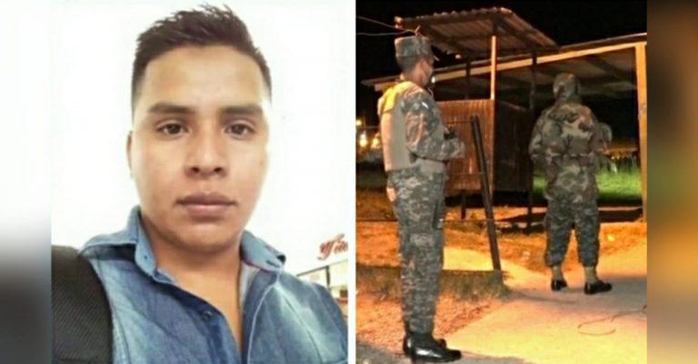 Les llevaba comida: con un candado, asesinan a militar en cárcel de Támara