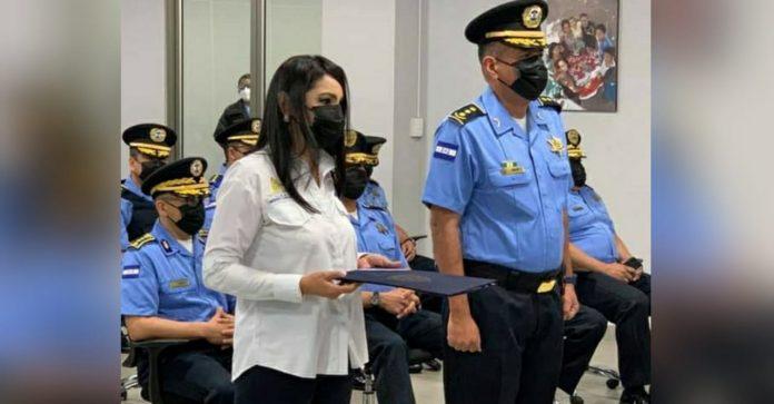 mujer portavoz Policía Nacional