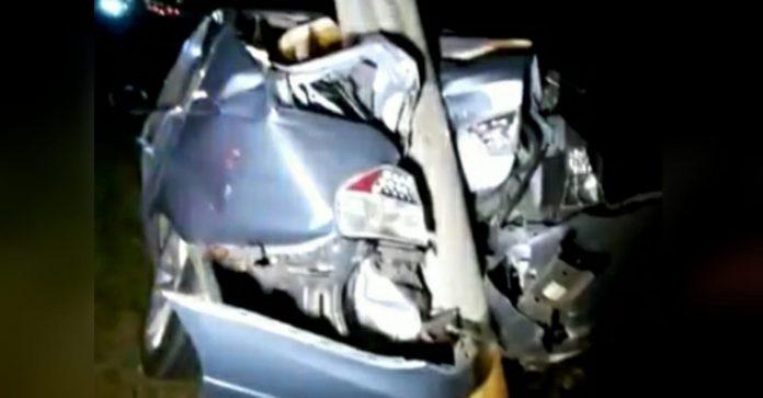 accidente BMW Anillo Periférico