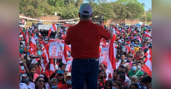 Yani inicia campaña en Choluteca
