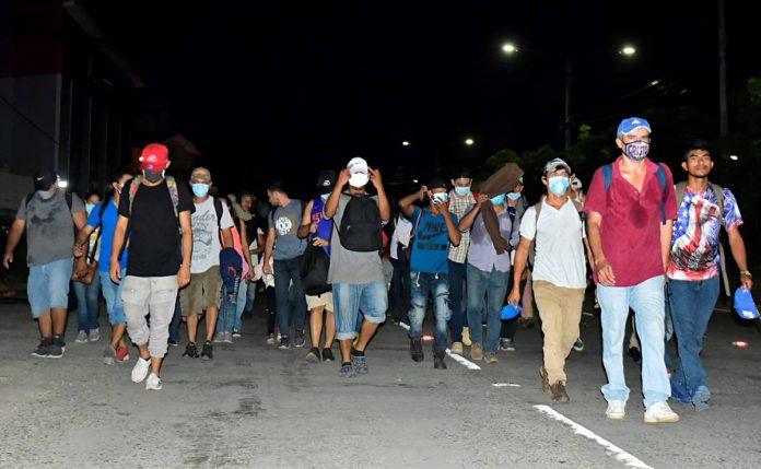 Caravanas migrantes crimen organizado