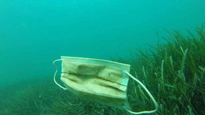 mascarillas contaminación océanos