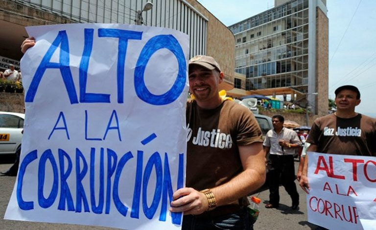 IPC: Honduras cae 11 puestos y registra puntuación histórica de corrupción
