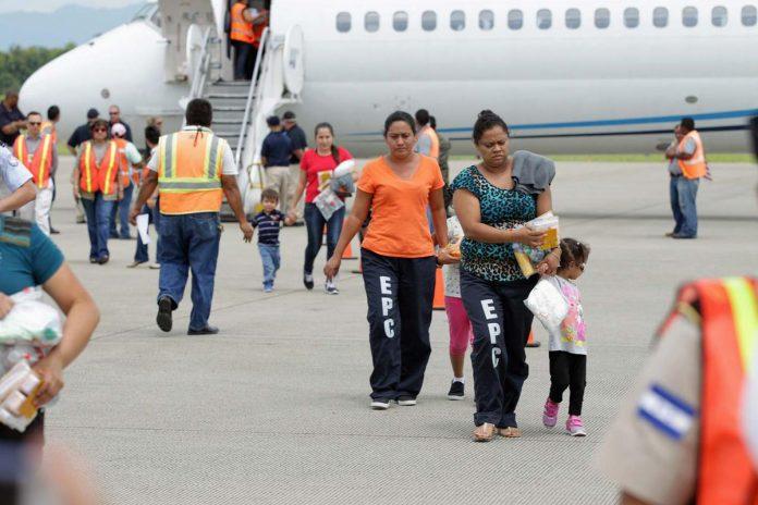 hondureños deportados en 2020