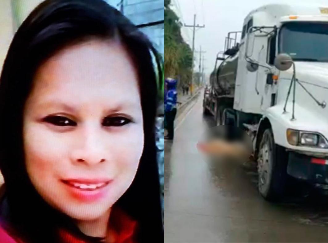mujer arrollada por rastra Copán