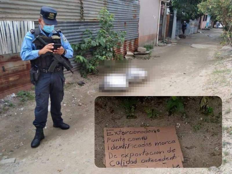 Policía empaquetados temas políticos