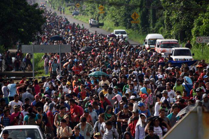 Guatemala caravana de migrantes