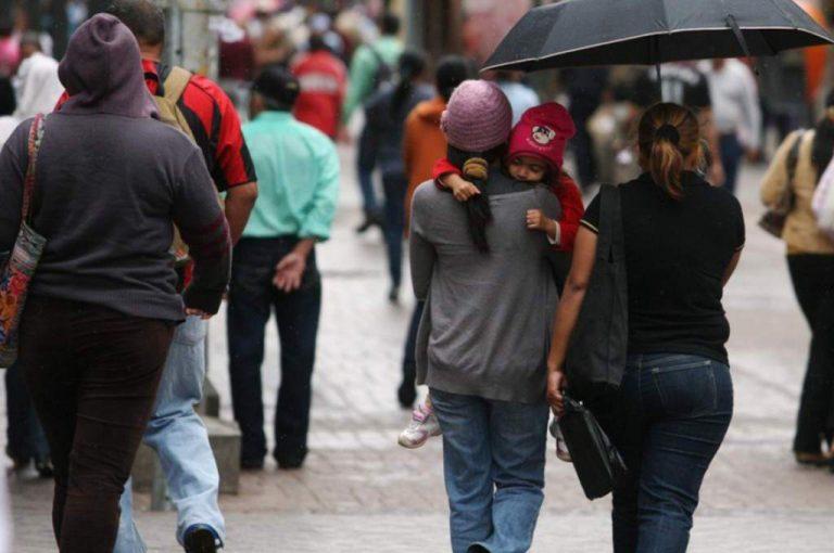 Zona noroccidental, la más afectada por el frente frío que ingresa hoy a Honduras