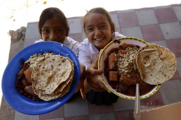 familias hondureñas mal alimentadas
