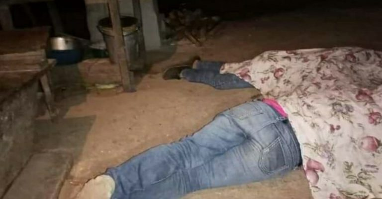 Mientras se jugaba la final: presuntos policías matan a madre e hija en Olancho