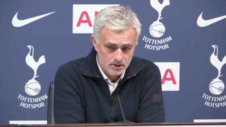 Mourinho sobre vacunación al fútbol: «Hay mucha gente en mayor peligro»