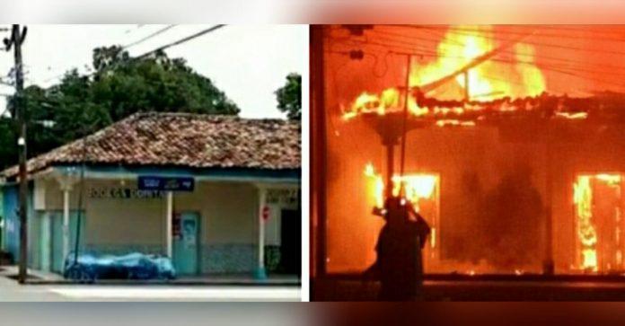 incendio Mitch familia hondureña