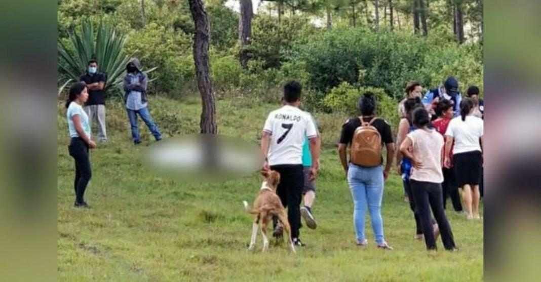 cadáver bosque Siguatepeque