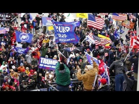 Toque de queda en Washington por caos antes de validación de victoria de Biden