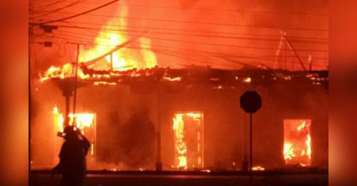 incendio mercado Orocuina