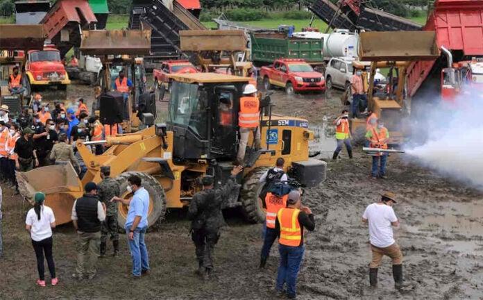 «Estamos en riesgo»: 16 ingenieros de obras en Valle de Sula dan positivo a COVID-19