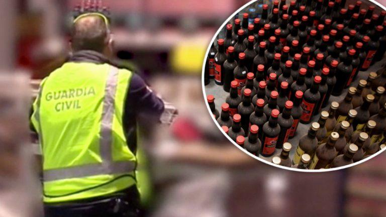 España: decomisan más de 225 mil botellas de ron falsificado embotellado en Honduras