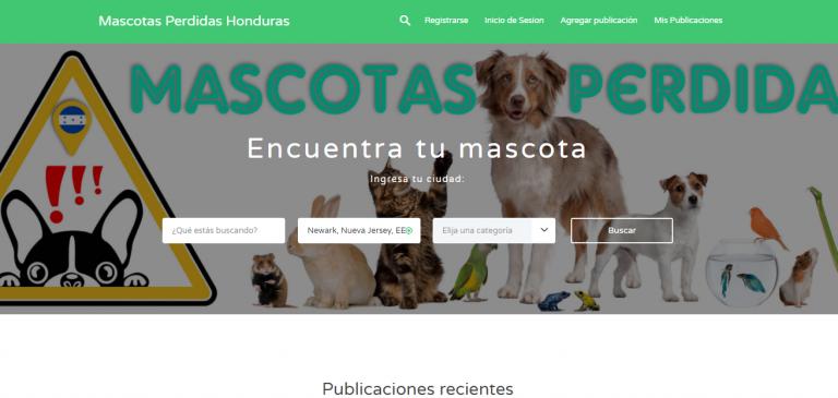 Honduras: desarrollan plataforma para encontrar perritos perdidos y adoptar