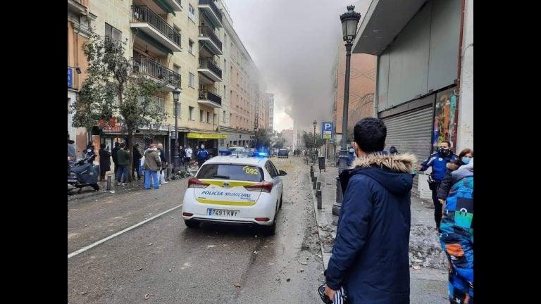 VÍDEO| Explosión en el centro de Madrid destroza un edificio y deja unos tres muertos
