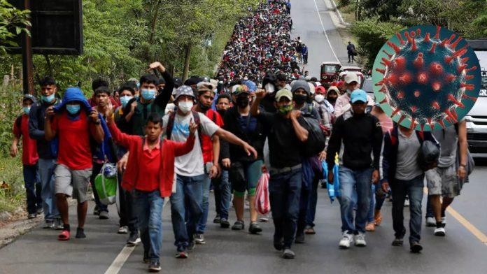 migrantes hondureños caravana covid
