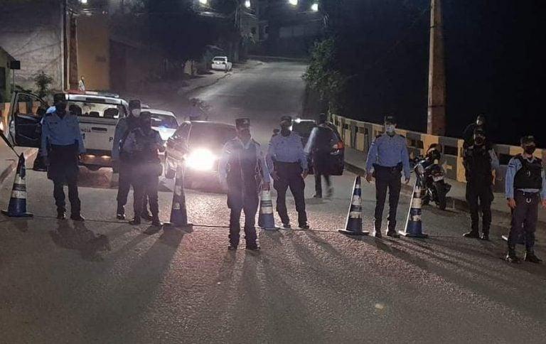 Honduras: más de 1,800 detenidos por desobedecer el toque de queda