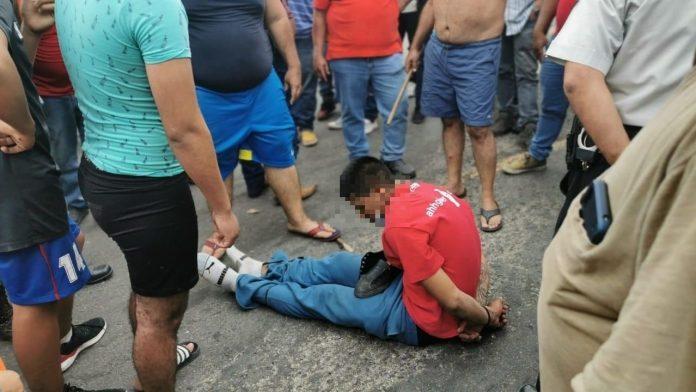 Detienen migrante caravana Guatemala