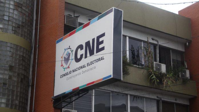 CNE elecciones 2021