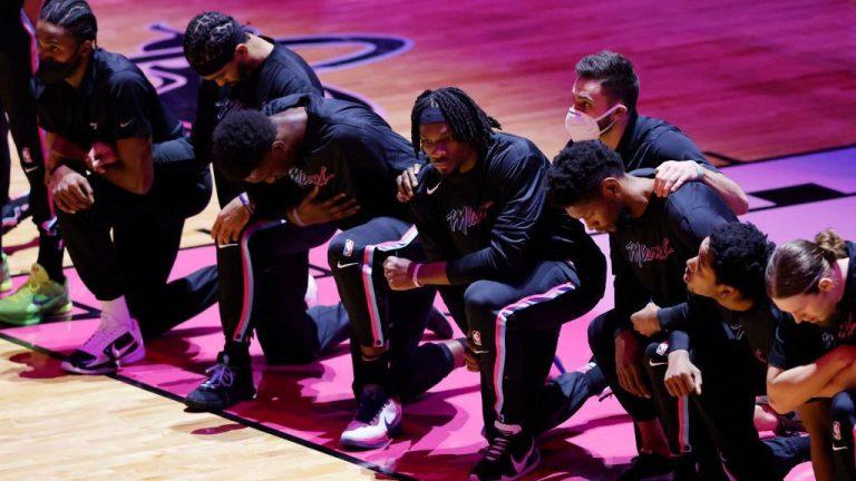La curiosa protesta en la NBA por el «asalto Trump»
