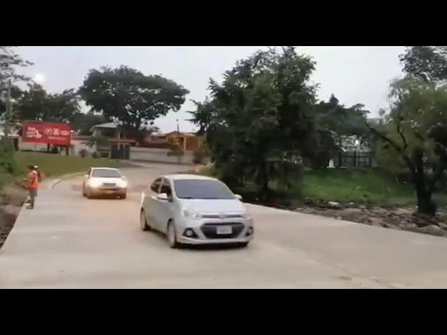 SPS: tras daños de Iota y Eta, habilitan paso en vado de la colonia Colombia