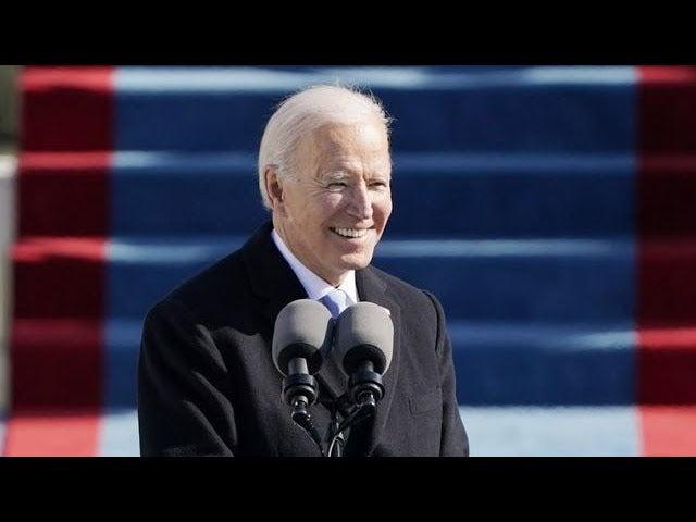 """""""Es el día de la democracia"""": primer discurso de Joe Biden como presidente de EEUU"""