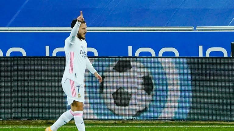 El Real Madrid se impone al Alavés; Hazard vuelve al gol