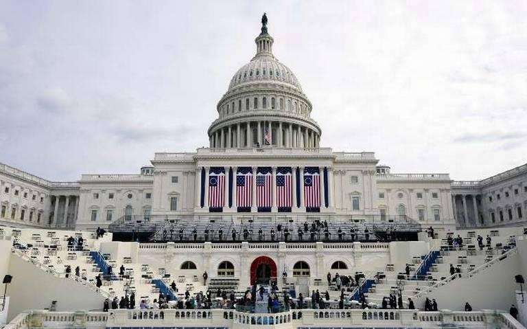Galería: Así se mira Washington a un día de la toma de poder de Biden