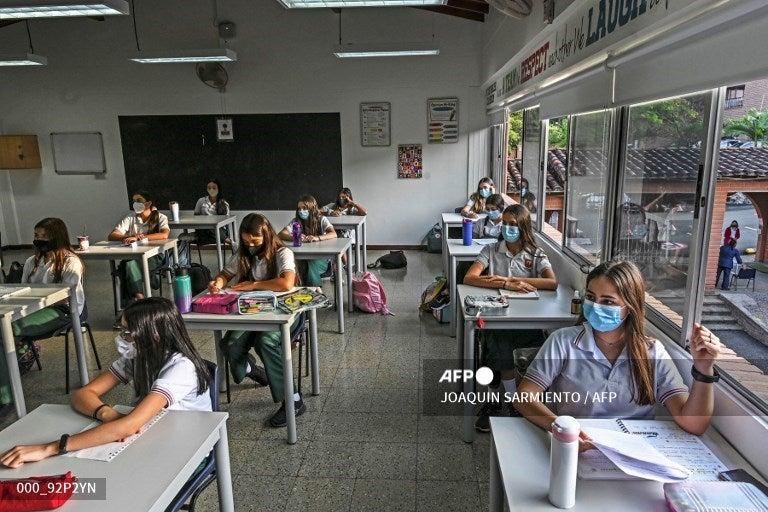 Suramérica regreso clases presenciales